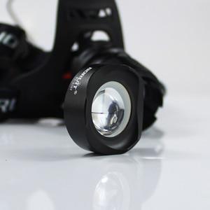 Image 5 - BORUiT RJ 2157 XM L2 LED 3000LM 5 Chế Độ Zoom Đèn Pha Sạc 18650 Công Suất Ngân Hàng Chống Nước Đầu Đèn Pin Cho Cắm Trại