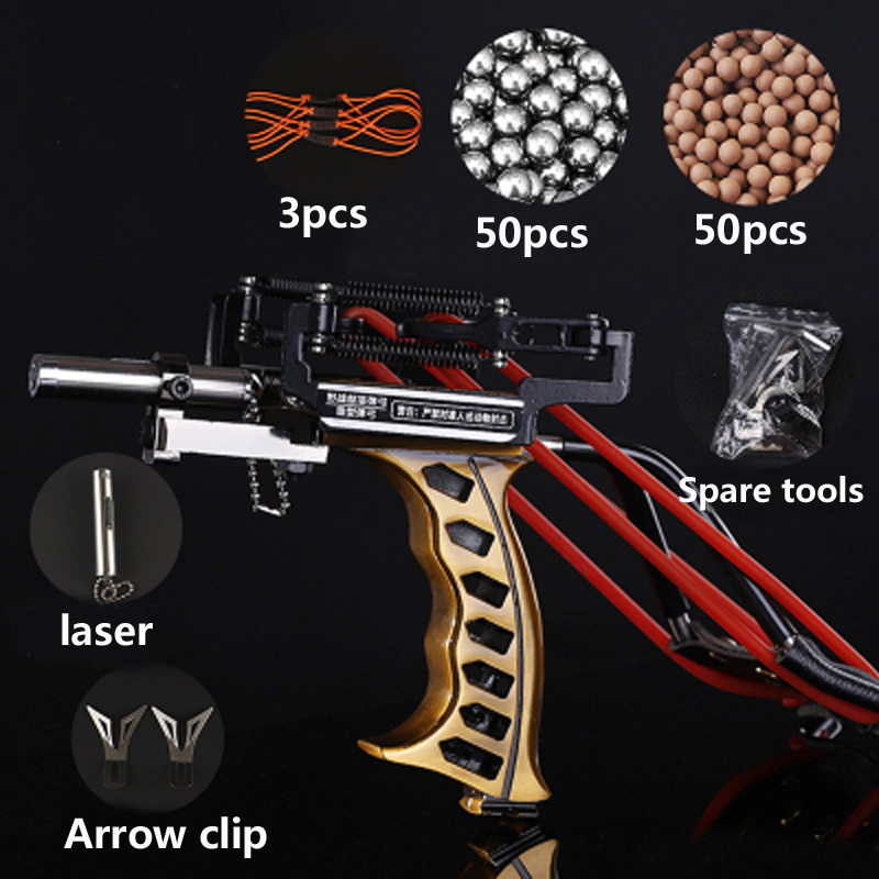 Laser Slingshot Red Hunting Bow Catapult Fishing Slingshot Outdoor Powerful Slingshot Catapult Shooting Arrows Crossbow Bow professional powerful slingshot aluminium alloy catapult slingshot camouflage bow outdoor slingshot hunting bow wyq