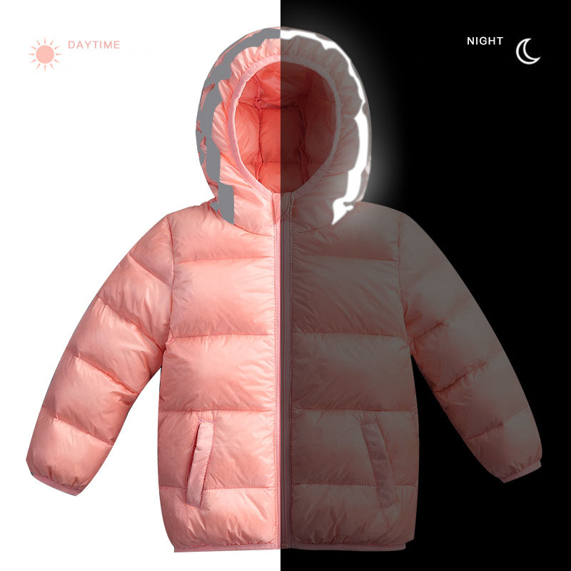 Fashion boys winter jackets new style Down & Parkas solid reflector girls warm clothing hooded children winter down snowsuit brand fashion new 2016 winter children down & parkas girl s hooded jackets print character outer wear clothing