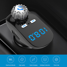 FM Transmitter Bluetooth Car Charger Universal Car Kit AUX Stereo Wireless Adapter Bluetooth Receiver Support TF Card U Disk doosl dser107 universal wireless fm transmitter