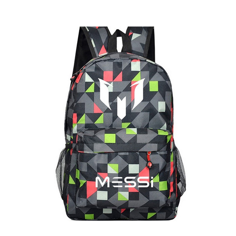 Messi Backpack School Bag for Teenager Boy Rucksack Male Teen Black Book Bag Men Back Pack Gift Kids Bagpack ...