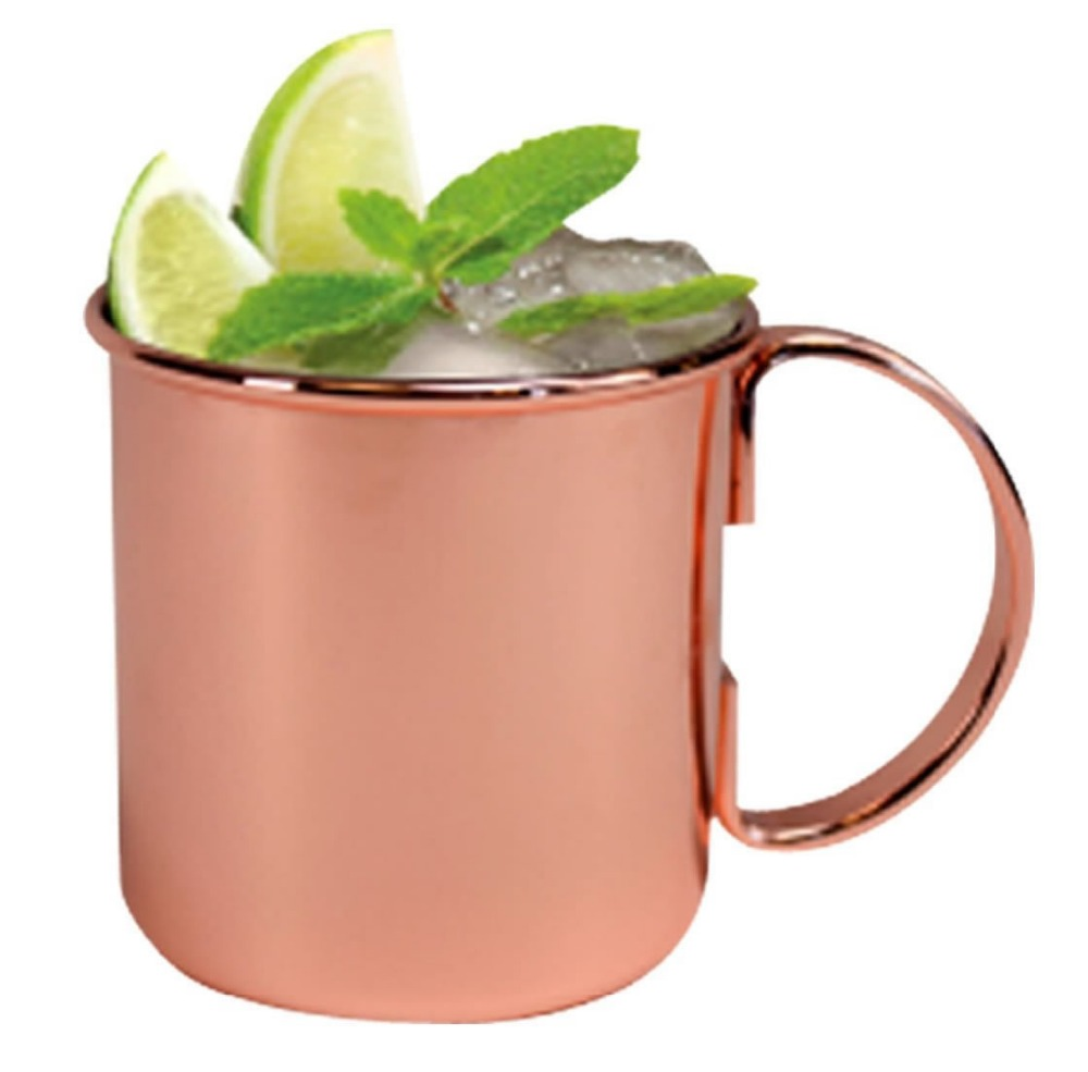 buy v king stainless steel moscow mule copper mug beer cup copper mug rose gold drinkware free shipping from reliable cup stand suppliers - Moscow Mule Copper Mug