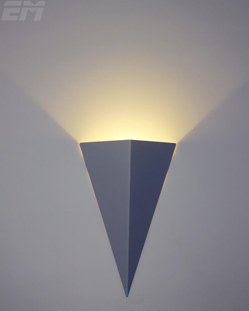 Bedroom Modern Wall Lights - 3d torch shape brief design modern home lighting led indoor wall lamps 20 14
