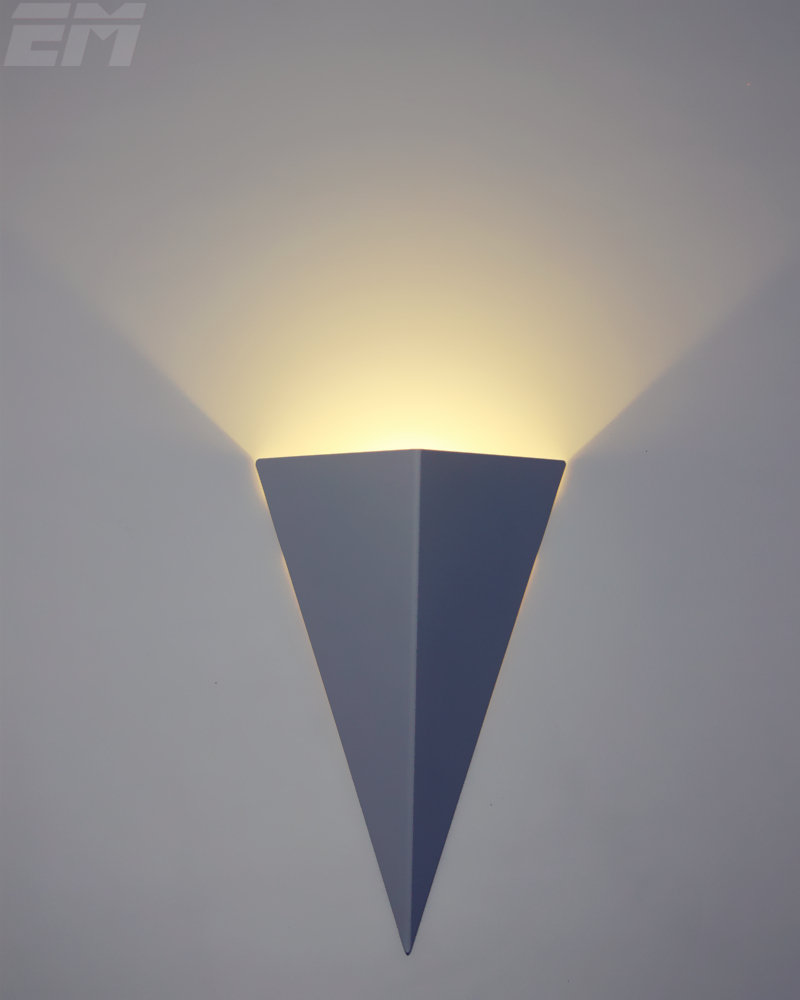 3d torche forme brève conception moderne éclairage à la maison led intérieur mur lampes 20146 cm 3 w en aluminium chambre lumi