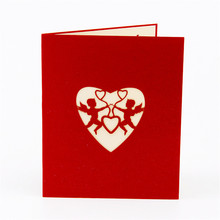 3D Pop Up Heart Greeting Gift Cards