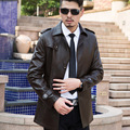 Men's Leather Jackets Spring And Autumn Black Leather Jacket For Men Leather Coats Loose Big Size PU Jaqueta De Couro Masculino