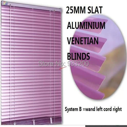Aliexpresscom Buy Free Shipping Purple Slat Horizontal Venetian