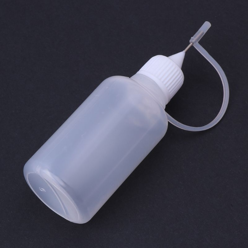 Handmade 30ml ade 30ml Glue Applicator Squeeze Needle Bottle For Quilling Paper DIY Origami Henna Tattoo Dispensing Craft Tool in Sewing Tools Accessory from Home Garden
