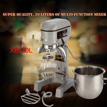 XB-20L  110V/220V commercial electric 20L planetary kneading machine 1100 W Eggs Kitchen Cake Stand for Cooking Mixer Mixing