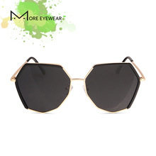 2018 New Fashion Oversized Polygonal Unisex Fashion Sunglasses For Women  And Man Polarized lens TR90 Ultra Lightweight Eyewear 3f65b92549