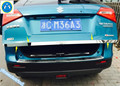 Para Suzuki Vitara 2015 2016 Acero Inoxidable Trasero Tapa Del Tronco de Trim 1 Unids
