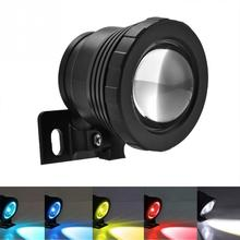 New 12V 5W RGB Waterproof Pool Light Aquarium LED Spotlight Lamp Underwater Light for Fish Tank Pool Garden Underwater LED Light