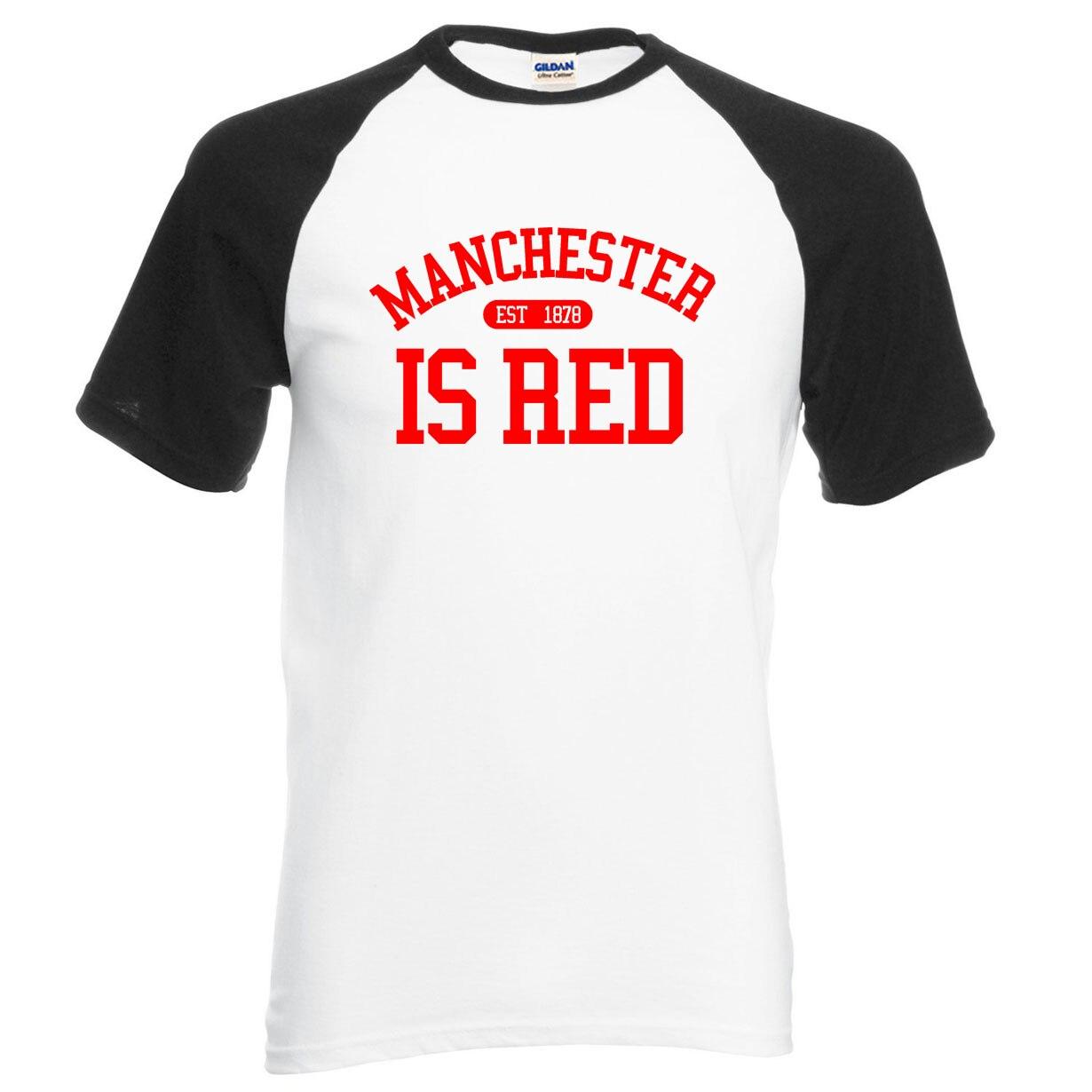 Design your own t shirt cheap uk - The Uk Manchester Is Red Print Raglan Men T Shirt 2017 New Summer 100 Cotton