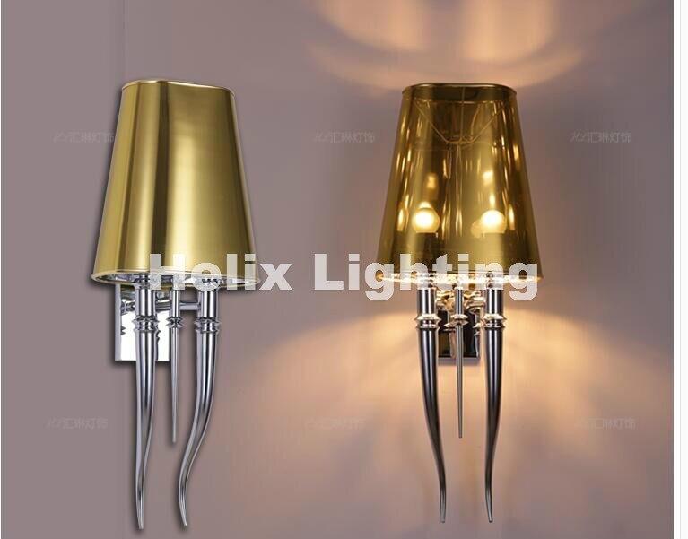 Современный Хромированный Светодиодный настенный светильник для стен в ванной и спальне бра для внутреннего освещения лампа переменного т