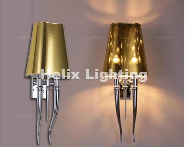 Plafoniere Da Parete Per Interni : Moderna chrome led lampada da parete per bagno camera letto