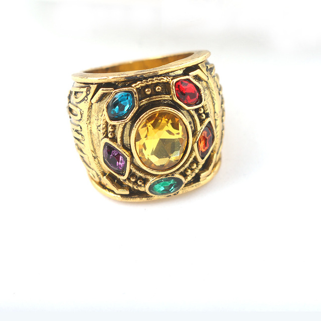 Кольцо камни Таноса Мстители Война бесконечности 3
