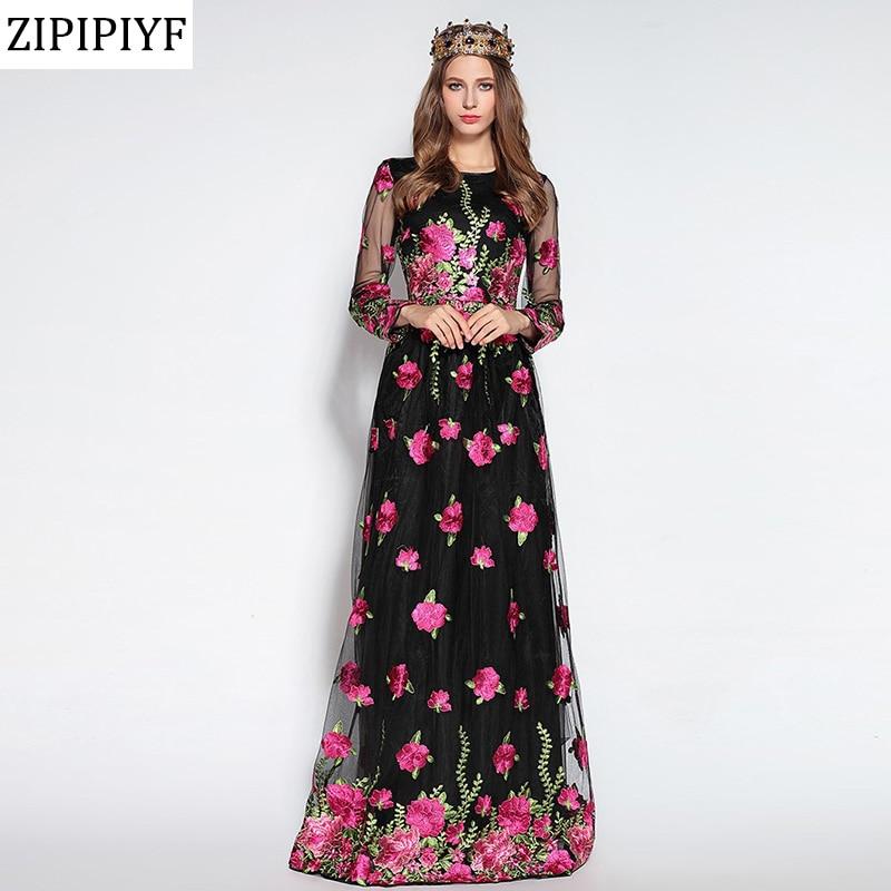 Fashion Nova Beauty Queen Maxi Dress: 2018 Ewest Fashion Runway Maxi Dress Women's Elegant Long