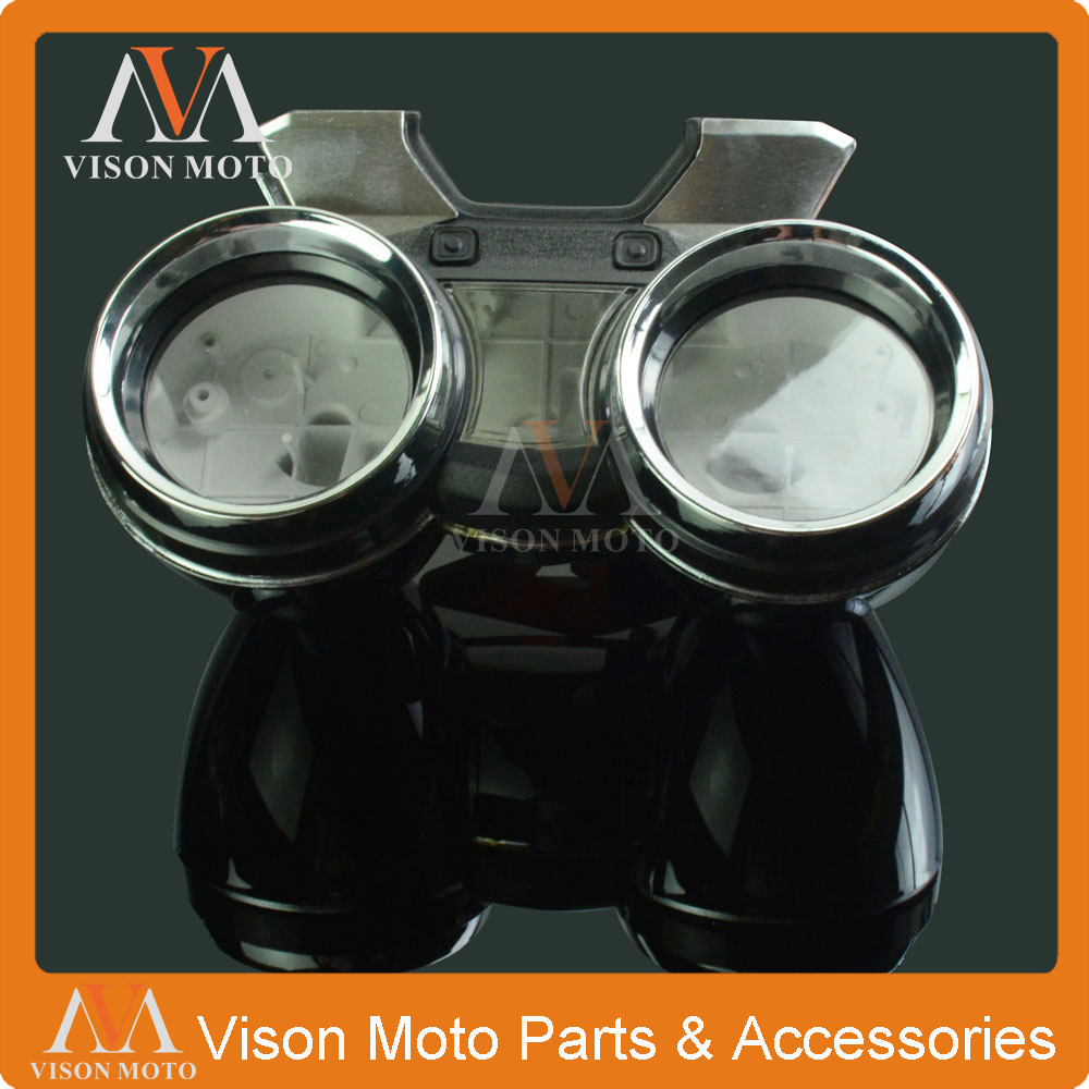 Speed Meter Clock Instrument Case Gauges Odometer Tachometer Housing Box Cover For <font><b>SUZUKI</b></font> <font><b>GSX1400</b></font> GSX 1400 04 05 06 07 08 image