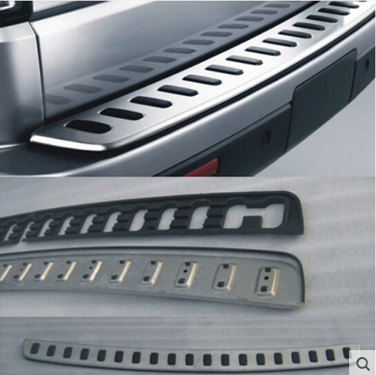 Stainless Steel Inner Rear Bumper Protector Sill Trunk