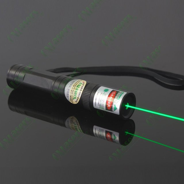 10PCS/LOT OXLasers OX-G1 100mW high powered green laser pointer flashlight  star pointer with visible beamFREE SHIPPING