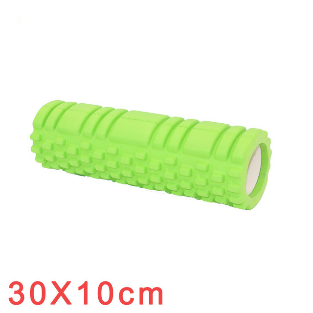 Yoga Column Fitness Pilates Yoga Foam Roller blocks Train Gym Massage Grid Trigger Point Therapy Physio Exercise