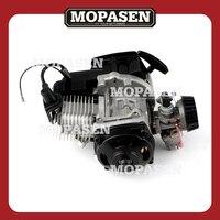 43CC 47CC 49CC 2 Stroke Engine Motor Mini Quad Rocket Pocket Bike with Pull Start Engine ATV Motorcycle Accessories Motor Parts