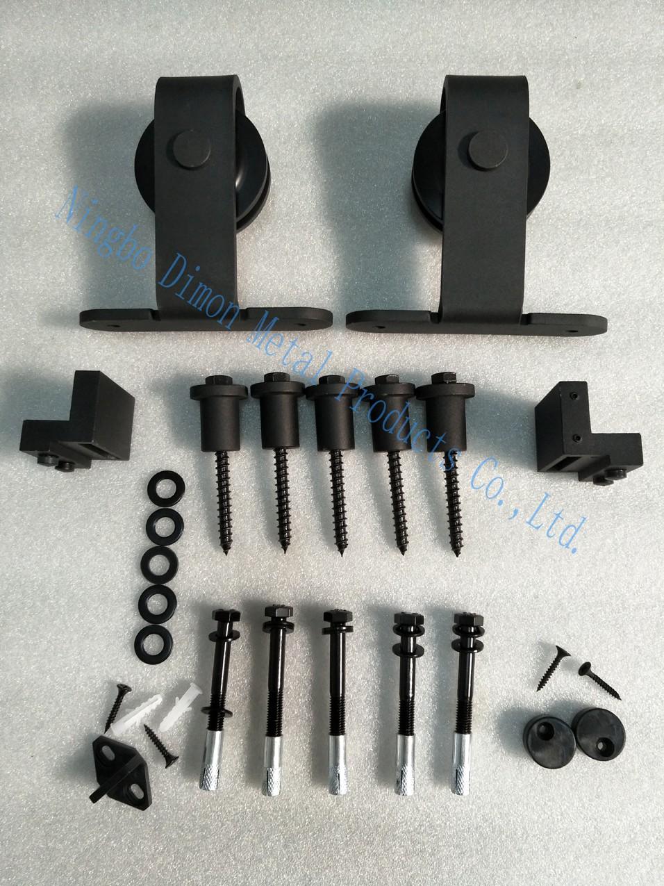 DM-SDU カスタマイズスライディングドアハードウェア木製納屋のドアハードウェアホイールアメリカスタイルスライディングドアハードウェア Mushi States 5