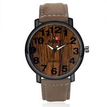 Simulate wood watch brand SOXY quartz men women sports Wrist
