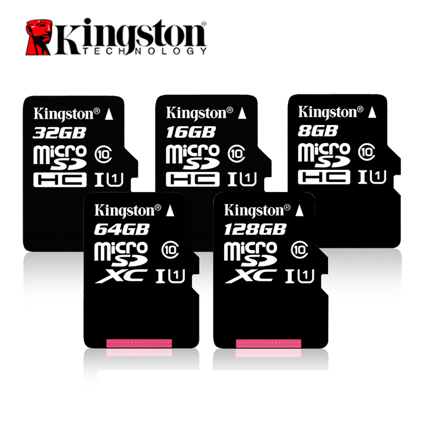 Original Kingston Class 10 Micro SD Card 16GB 32GB 64GB Memory Card C10 Mini SD Card C4 8GB SDHC SDXC UHS-I TF Card transcend high quality 128gb 64gb 32gb 16gb micro sd card class10 uhs 1 sdhc sdxc high speed 8gb class4 tf t flash memory card