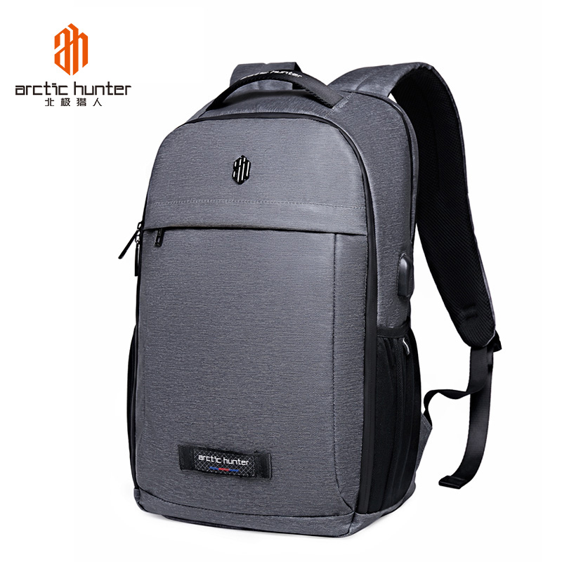 ARCTIC HUNTER Large Capacity Backpack Male Luggage Shoulder Bag Computer Men Functional Versatile Travel Bags canvas style leather travel large capacity backpack male luggage shoulder bag computer backpacking men functional versatile bags
