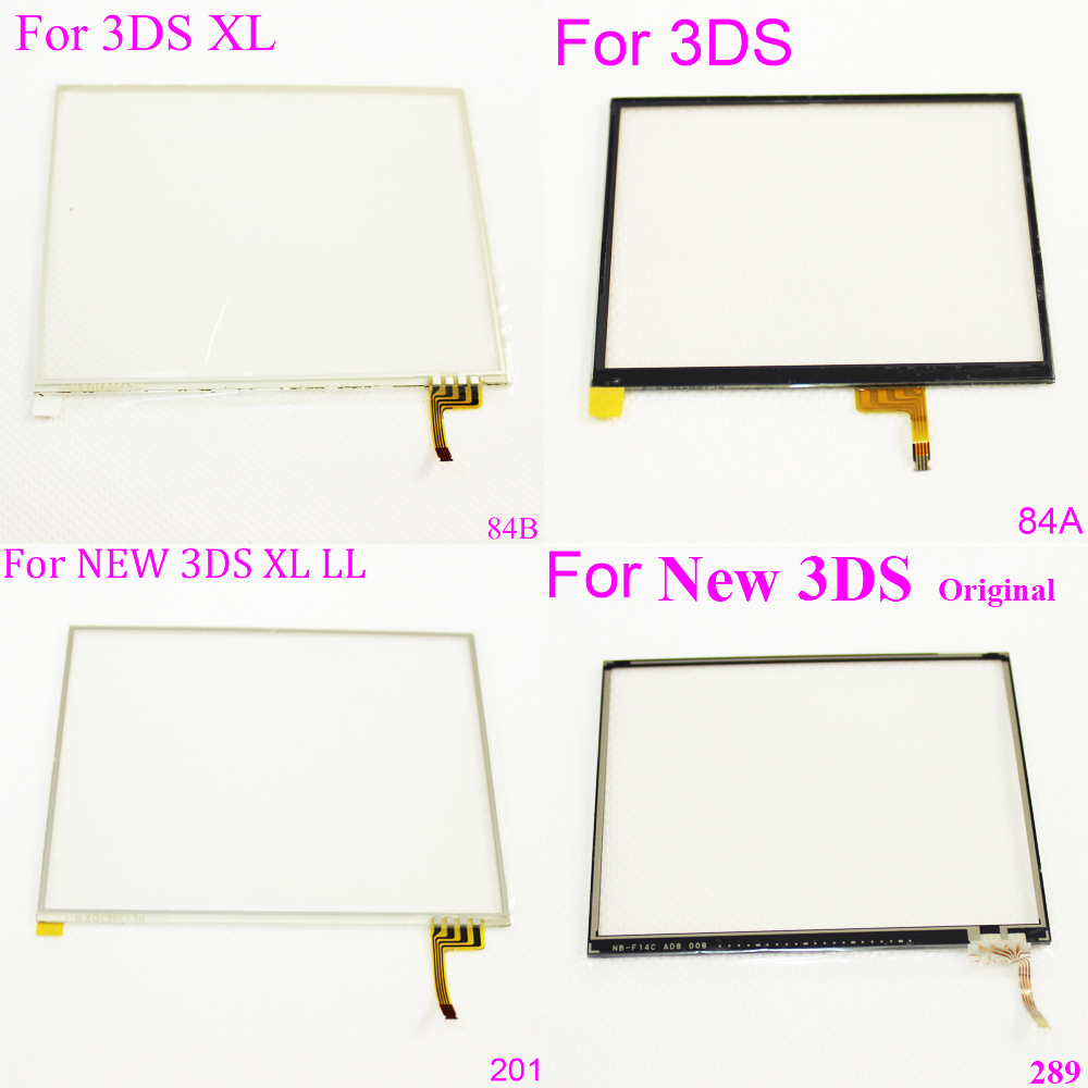 1X For 3ds / 3DS XL Touch Screen Digitizer Bottom Glass Replacement Parts For Nintendo NEW 3DS XL LL replacement touch screen digitizer module for nintendo dsi xl ll page 2