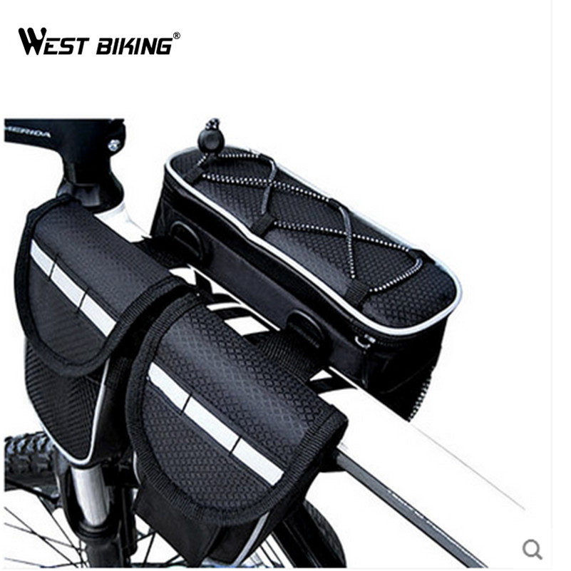 best top 10 bicycle bike bag front frame head pipe triangle
