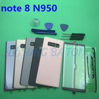 NEW Original Housing back battery cover case+front glass lens+Sticker For Samsung Galaxy NOTE8 NOTE 8 N950 N950F +tools