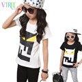 V-TREE summer baby boys girls t shirts cotton kids t-shirt devil pattern shirts children tops sports tees designer clothing