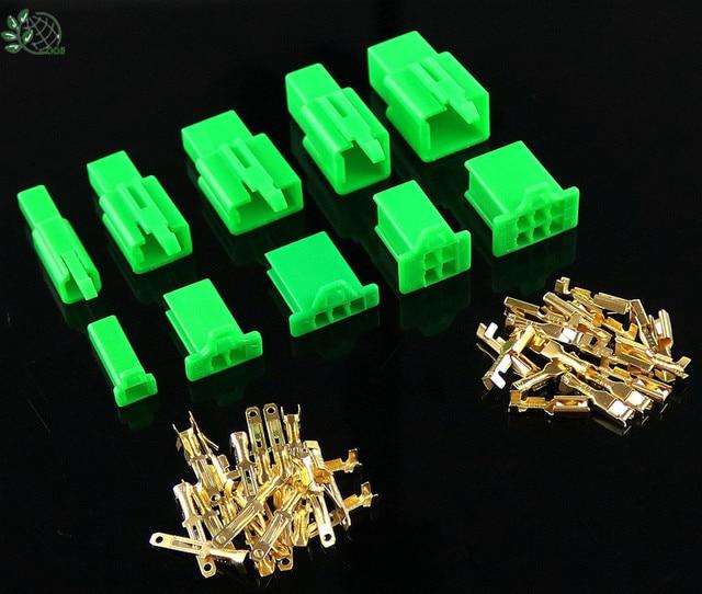 2.8mm 2/3/4/6/9 pin Automotive 2.8 złącze przewodu elektrycznego męski kabel żeński zestawy wtyczek końcowych motocykl ebike car