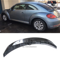 VW Beetle Carbon Fiber Rear Spoiler Car Styling Wings For Volkswagen Beetle Car Body Kit 2013 2018