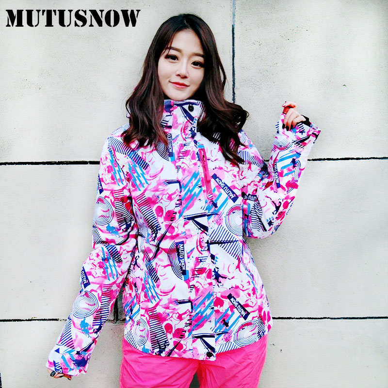 Ski Jacket Women Winter 2018 New Arrival Waterproof Windproof Snow Coat Female Warm Outdoor Skiing And Snowboarding Jacket Brand цена 2017