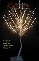 52 Pure White 160LED Willow Tree In 3V Voltage With DC Adaptor Branch Tree Light Or