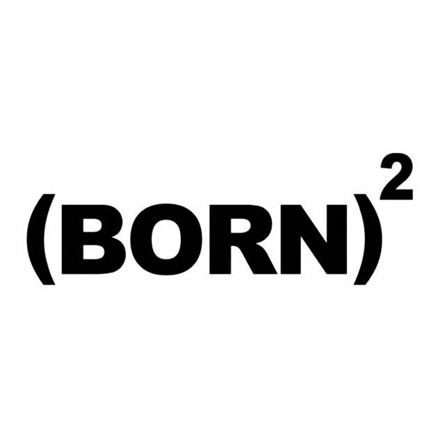 Hotmeini born again christian bumper sticker decal funny