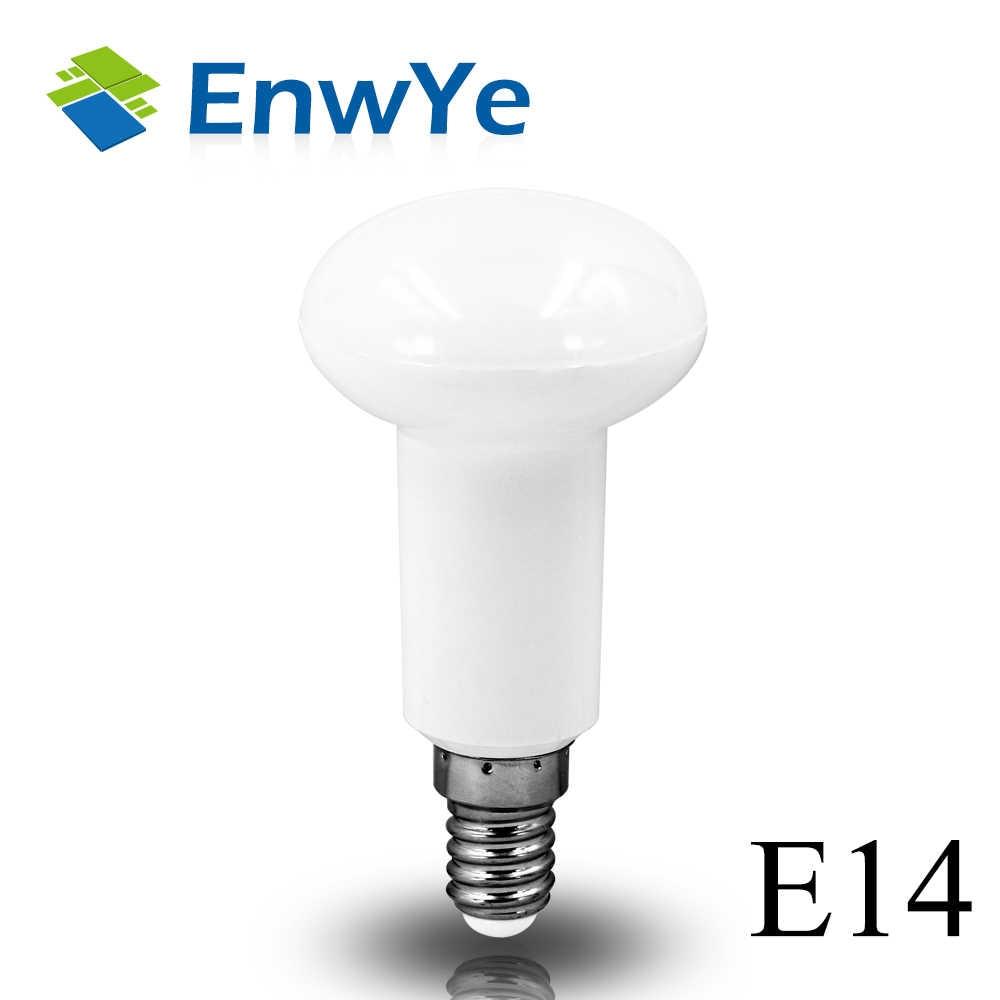 EnwYe 4 pièces R39 R50 R63 lampe à LED E14 E27 Base LED AMPOULE 4W 6W 9W 12W parapluie à LED ampoule Chaud Froid lumière LED blanche AC220V