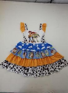 Image 1 - Entzückende cartoon party mädchen spielzeug geschichte kleid rauch rüschen kleider