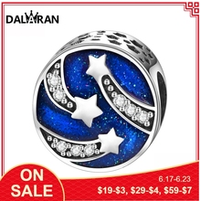 DALARAN fashion jewelry 925 sterling silver jewelry jewellery beads youthful versatile European style can be assembled