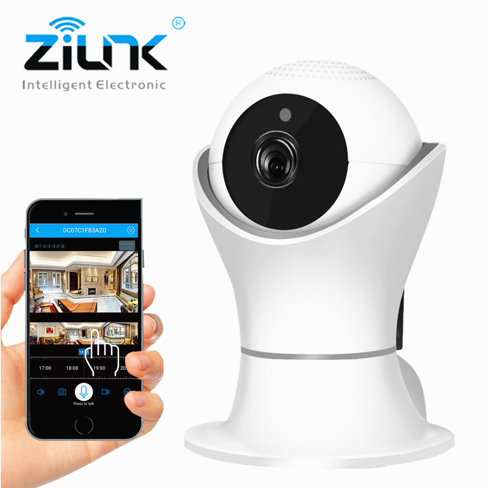 ZILNK 2.0MP IP Camera WiFi Wireless Home Security Baby Monitor HD 1080P Night Vision IR-Cut Motion Detection Support 128G zilnk video intercom hd 720p wifi doorbell camera smart home security night vision wireless doorphone with indoor chime silver