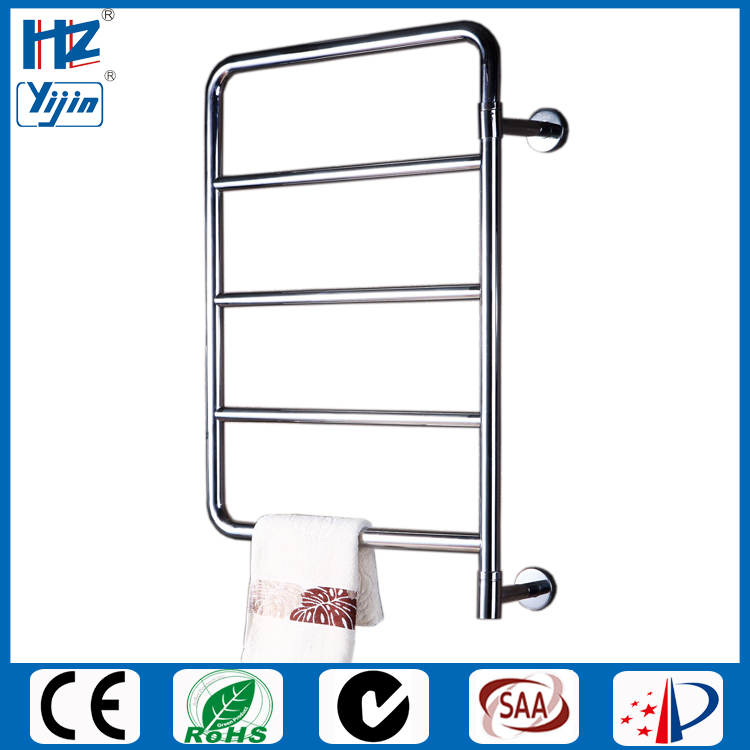 Stainless Steel Electric Radiator Towel Rail: Yijin Stainless Steel Bathroom Accessory Swing Heated