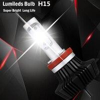 KOONTOOM 2pcs H4 H1 Led H8 H9 H16JP H11 LED Car Headlights Bulbs 8000LM 50W H11