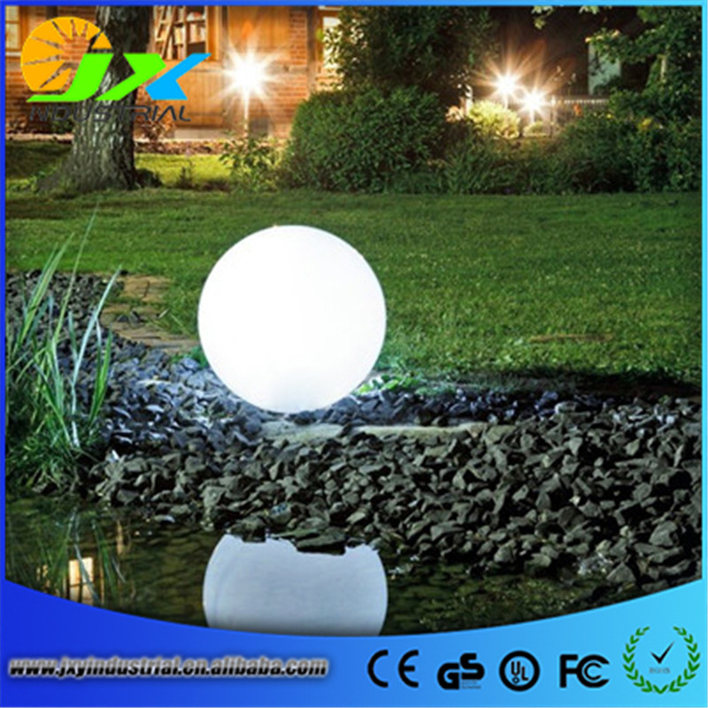 Diameter 30cm/40cm/50cm led landscape garden lamp PE ball уровень 30cm 40cm 50cm