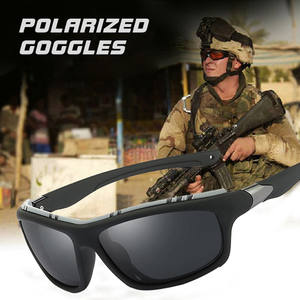 COOLPANDAS Polarized Driving Sunglasses Men Sun glasses