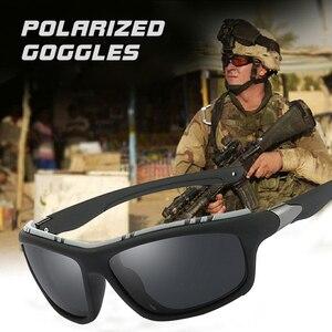 Top Mens Polarized Army Goggle