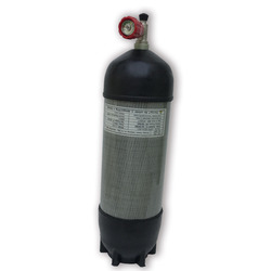 AC109111 hpa cylinder pcp airgun/air tank 9L paintball equipment carbon tank diving cylinder for pcp hand pump ACECARE