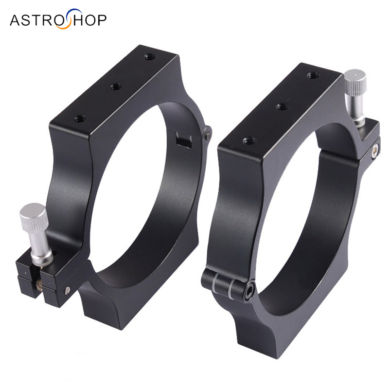 Telescope 98-100mm CNC Tube rings(pair) telescope